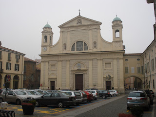 The Duomo of Tortona, where Lorenzo Perosi is  buried along with his brother, Carlo