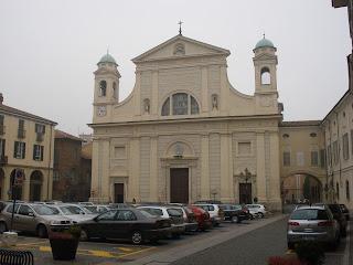 The Duomo of Tortona, where Lorenzo Perosi is  buried along with his brother, Carlo