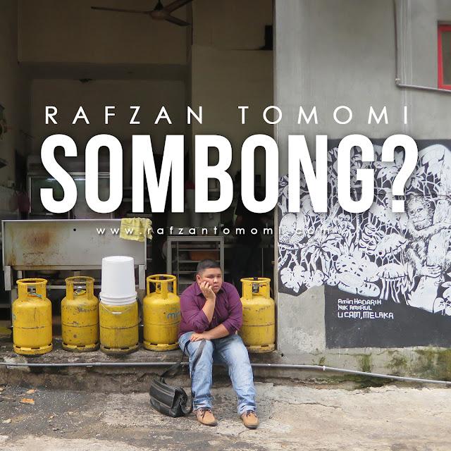 Rafzan Tomomi Dituduh Sombong