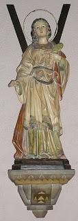 Santa Eulalia, patrona de Barcelona y de los poceros