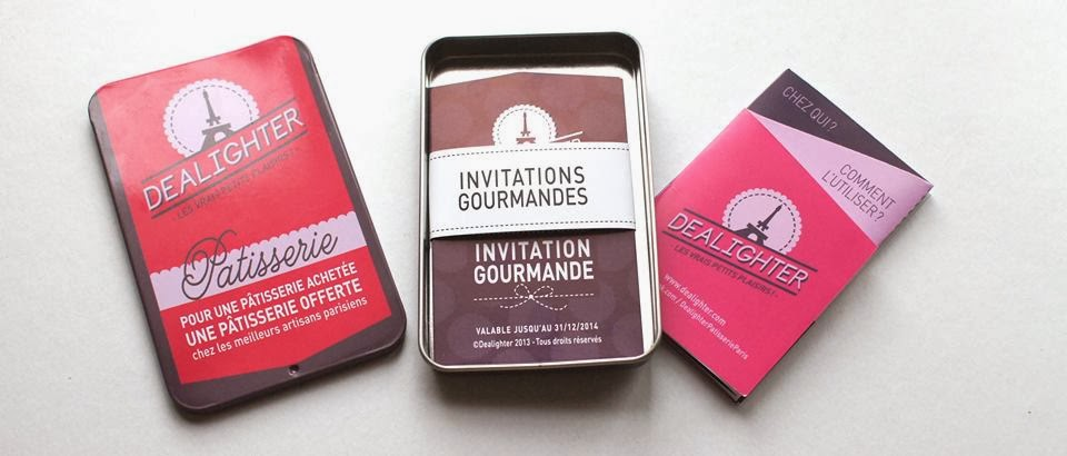 Coffret Dealighter pâtisserie