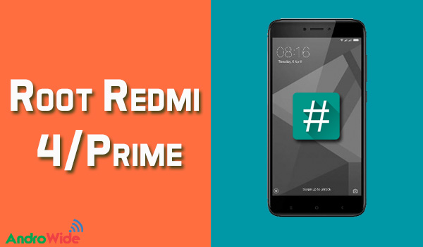 root redmi 4/prime without pc