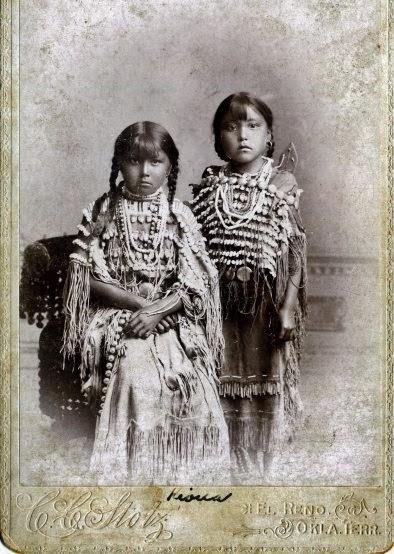 Native American Indian Pictures: Kiowa Indian Children ...