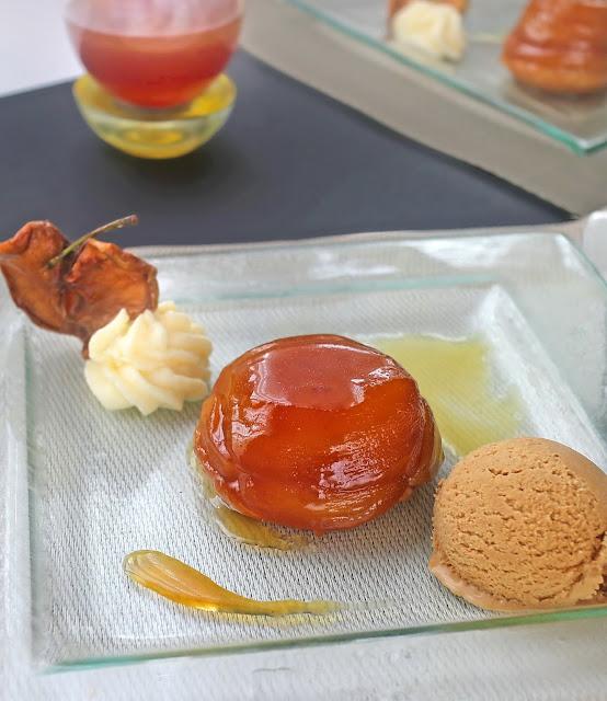 Ябълкови тарти татен със солен карамел