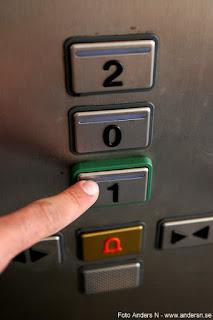 knapptryckning hiss