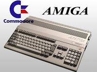 Imagen con un ordenador Commodore AMIGA