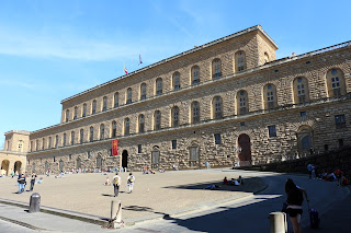 The Palazzo Pitti was acquired by the Medici family from the Florentine banker Luca Pitti