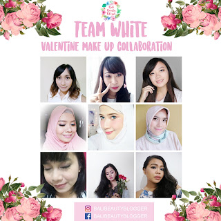 Bali Beauty Blogger Valentine's Day Make Up Collaboration