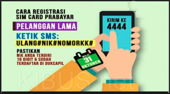 Begini Cara Cek No Ktp Dan No Kk Anda Ter Register Di Operator Telkomunikasi