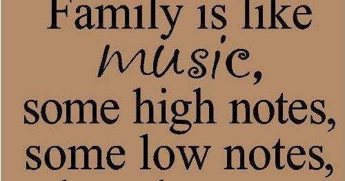 Family is like MUSIC,English Quotes 2014,English Quote ...Quotes About Family English