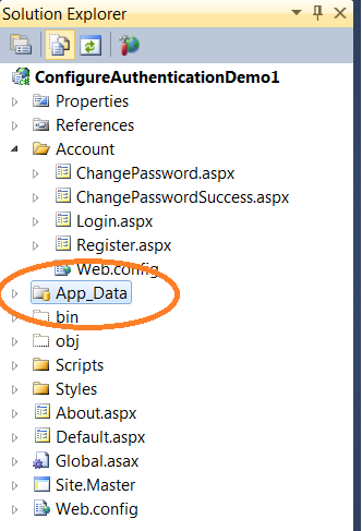 Simple Forms Authentication Example using ASP NET