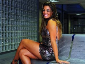 IMAGEM - Monique Amin, participante do BBB12