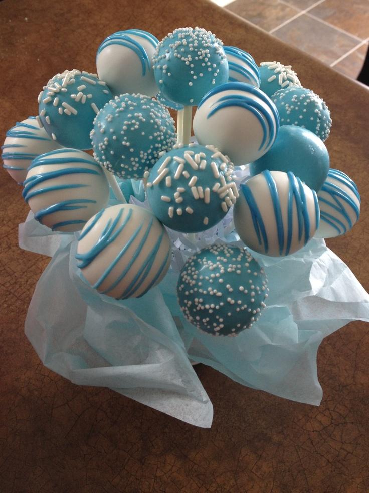 MuyAmeno.com: Popcakes para Baby Shower, parte 2