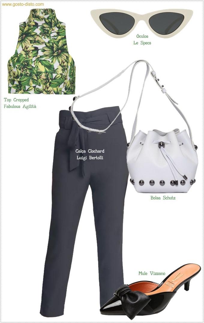 Como usar calça clochard