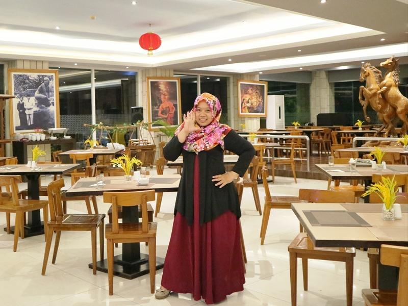 Suasana Tlogo Putri Restaurant Hotel Merapi Merbabu Yogyakarta