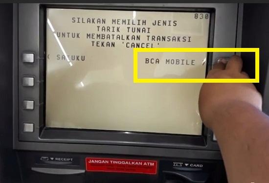 Mengunjungi ATM BCA Terdekat 2
