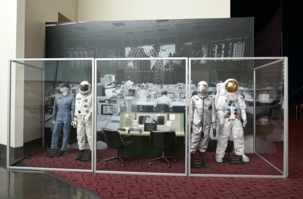 First Man movie costume and prop exhibit