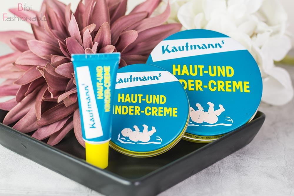 Top 3 Pflegeproduke Winter Kaufmann's Haut und Kindercreme