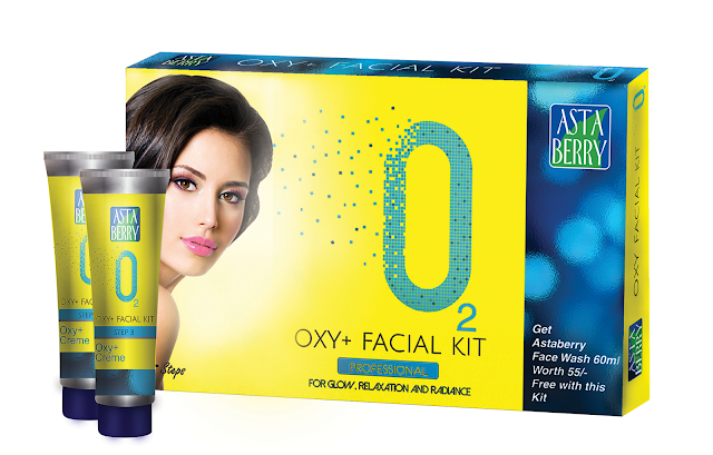 Astaberry O2 Oxy Facial Kit - Review image