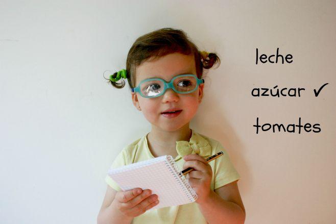 Ideas para practicar lectoescritura niños: lista de la compra