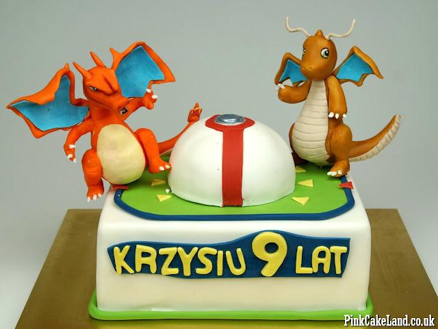 Lodnon Cakes Pokemon