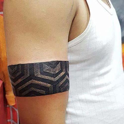 kolbandı dövmesi üst kol erkek armband tattoo upper arm for guys