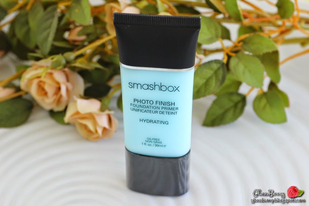 smashbox photo finish foundation primer hydrating  dry skin sensitive skin blue primer base review swatches פריימר בסיס לאיפור סמאשבוקס עור יבש