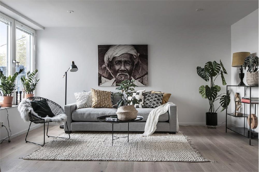 Arredare Casa In Stile Nordico Con Un Tocco Etnico Dettagli Home Decor