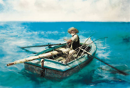 the old man and sea relationship with nature themes