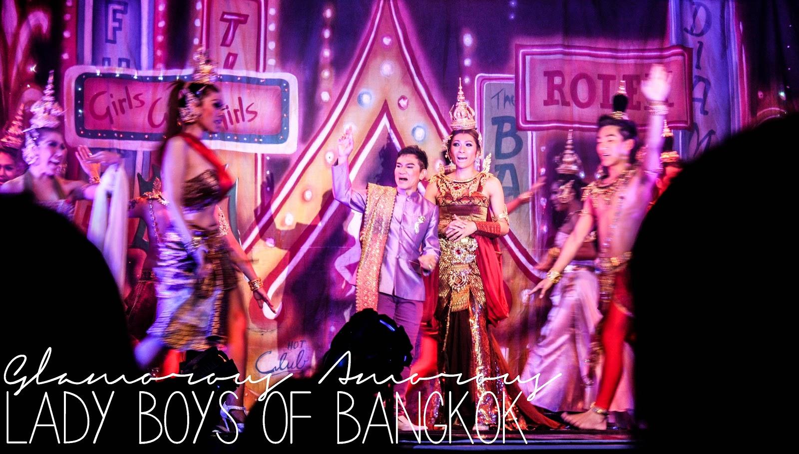 Glamorous Amorous by Ladyboys of Bangkok