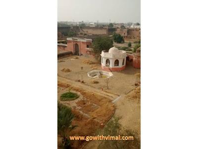 Junagarh fort back view