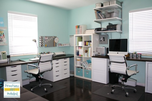 Remodelaholic Amazing Craft Room Office Space