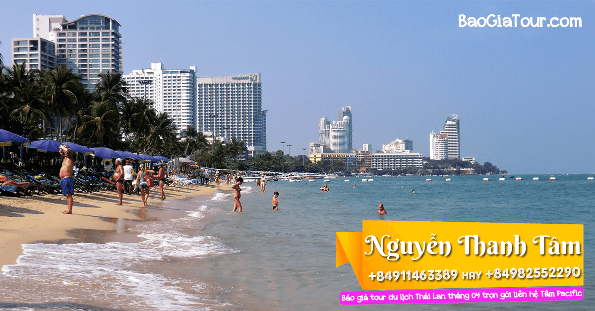 Báo giá tour Thái Lan tháng 4 trọn gói trong 5 ngày 4 đêm