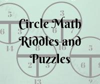 Circle Math Riddles and Puzzles