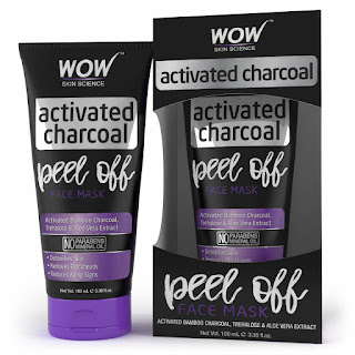WOW Activated Charcoal Face Mask At:rs 251