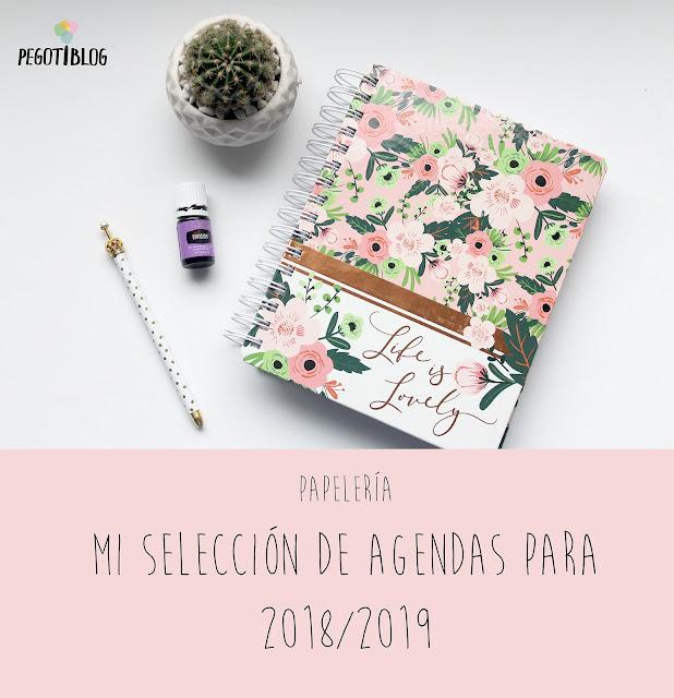 selección de agendas escolares para 2018-19
