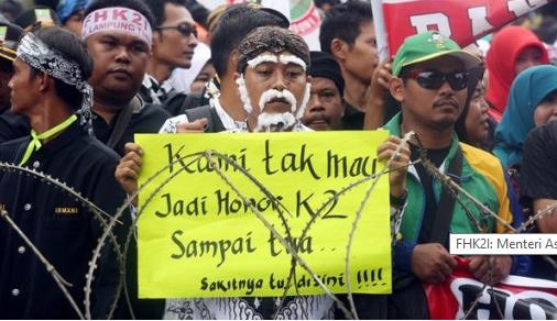 Nasip Honorer K2 Berbeda Dengan PTT Kesehatan