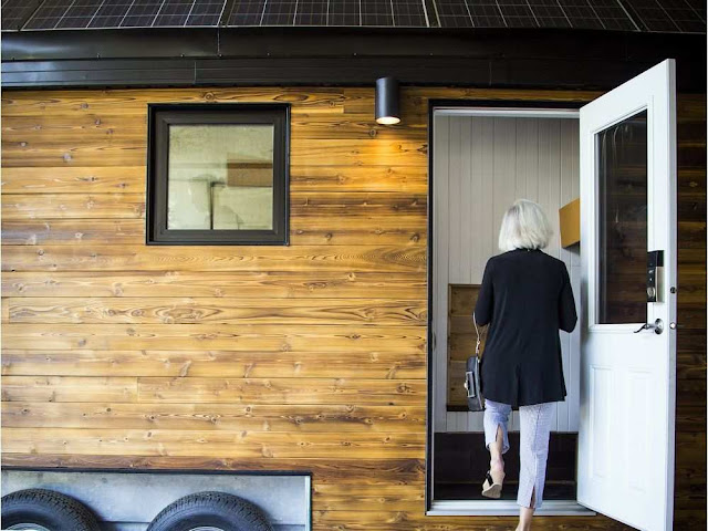 Northern Nomad tiny house