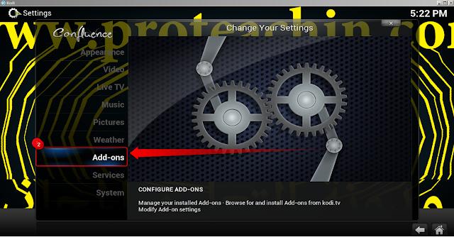 إضافة MoneySports لمشاهدة أفضل القنوات الرياضية على برنامج KODI