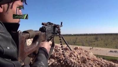 Pejuang Suriah Homs Bantai Tentara Syiah Assad