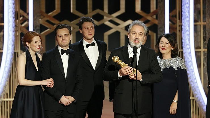 Призеры на вручении премии Золотой глобус