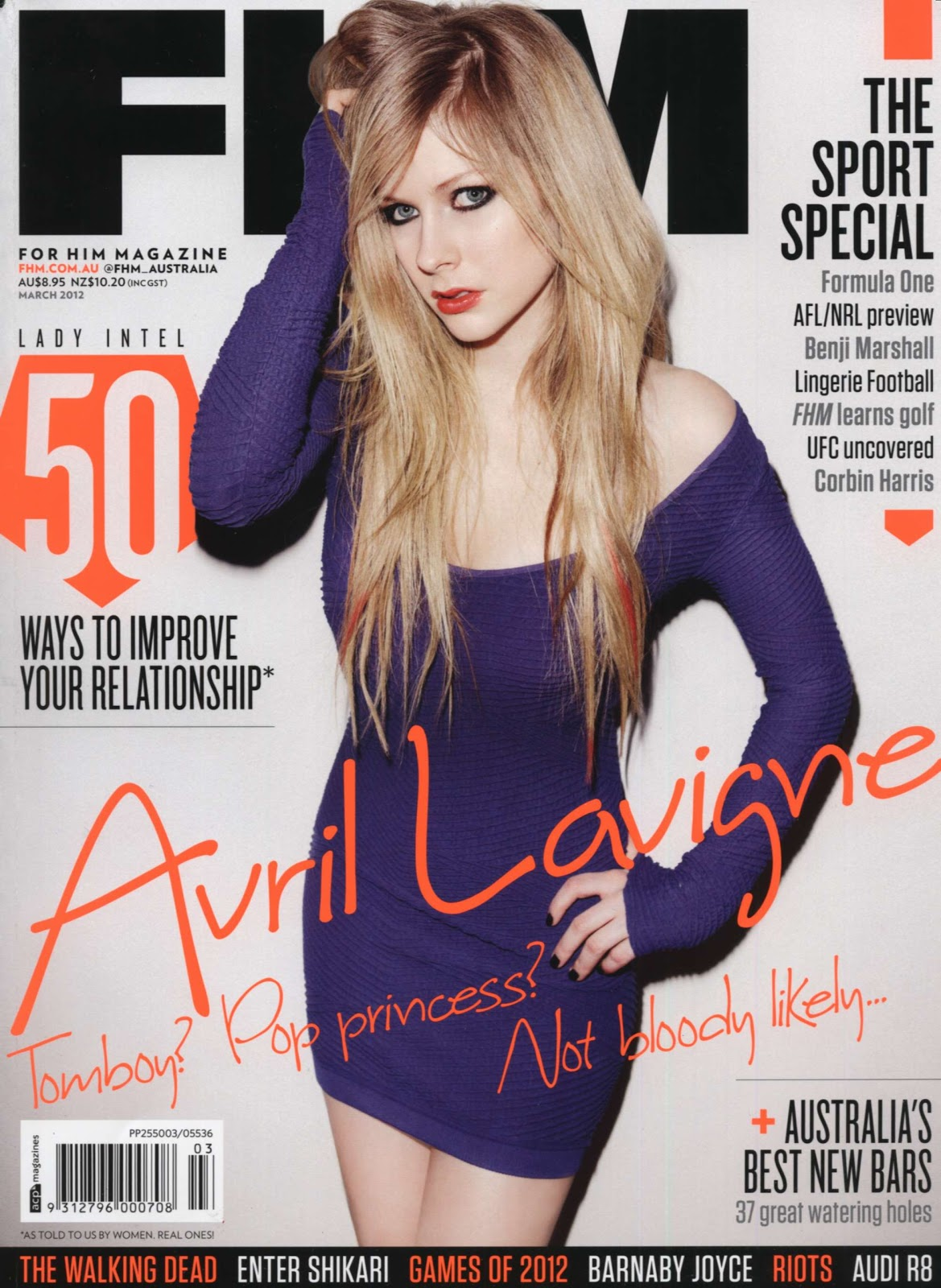 Avril Lavigne Fhm Photos