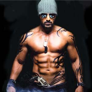 Bollywood Actor John Abraham Six Pack Photos