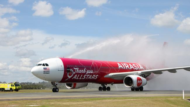 Air Asia flight forced to land in Perth, Western Australia