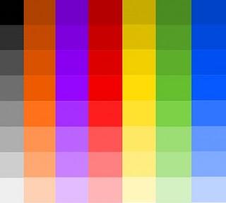 Sewarna Adalah Gubahan Yang Menggunakan Satu Warna Dalam Beberapa Ton Atau Nali Sebagai Monokrom 2 Dapat Dihasilkan Dengan Campuran