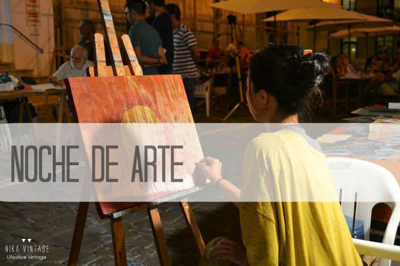 arte, pintura, nit d´art, lugares especiales, menorca, Mahon, pintores