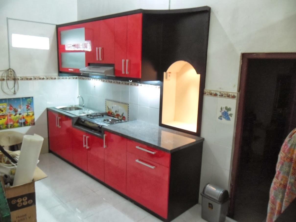 Desain Dapur Model Lurus | Gambar Desain Rumah Minimalis