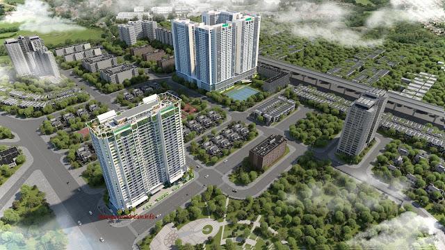 Phối cảnh chung cư Eco Dream City 2017