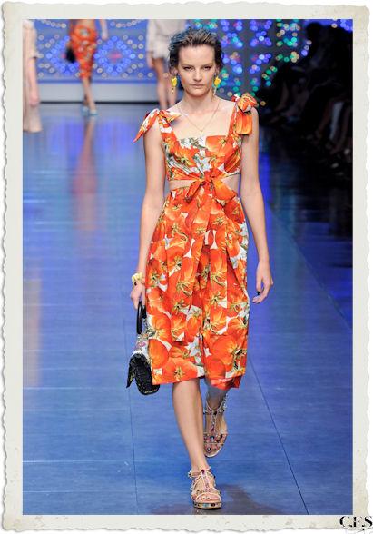 abito pomodori Dolce&Gabbana PE12