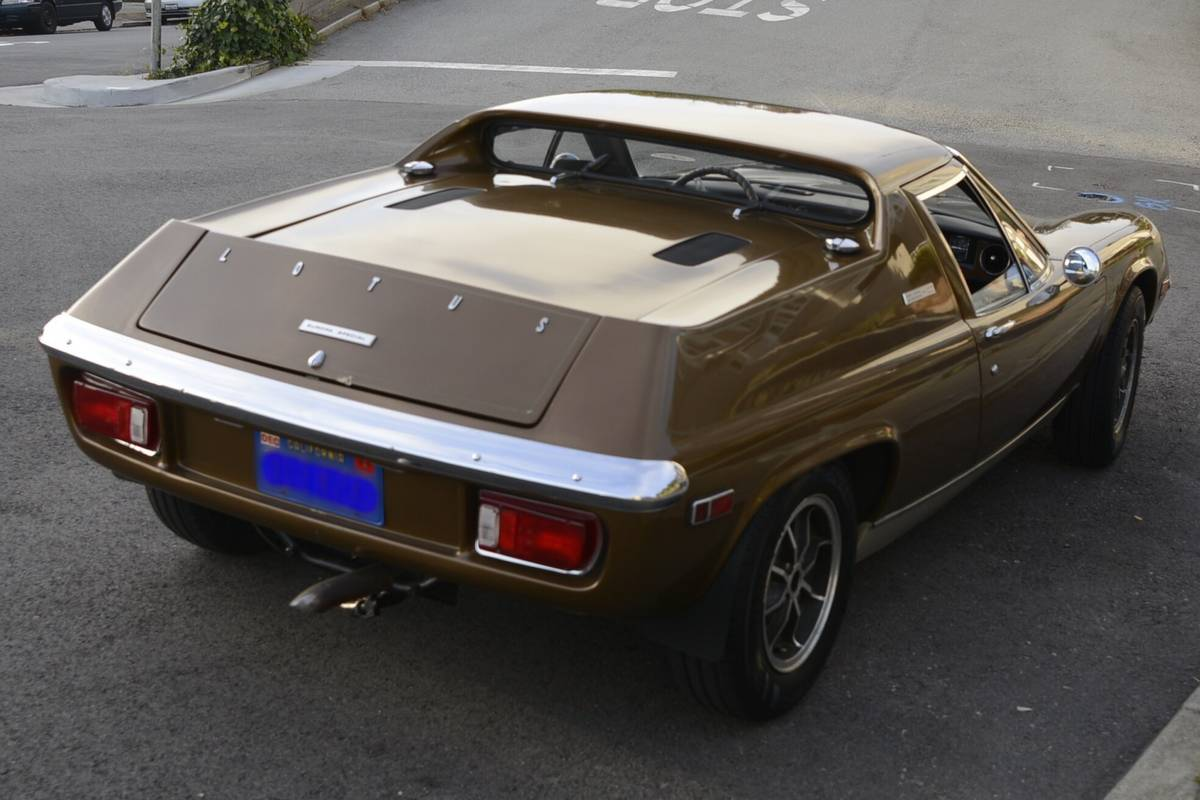 Daily Turismo: Low Mile Classic & Brown: 1974 Lotus Europa